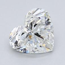 推薦鑽石 #2: 1.50 克拉心形切割鑽石