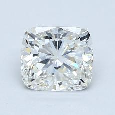 1.30-Carat Cushion Diamond Very Good I VS2