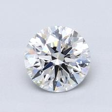 1.03-Carat Round Diamond Ideal D VVS1
