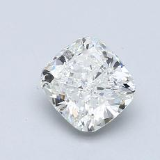 1,00-Carat Cushion Diamond Very Good H SI1