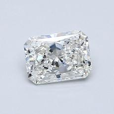 Recommended Stone #3: 0.56-Carat Radiant Cut Diamond