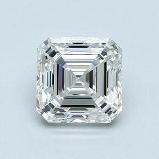 Recommended Stone #2: 1.02-Carat Asscher Cut Diamond