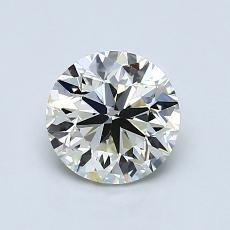 オススメの石No.4:1.00カラットのラウンドカットダイヤモンド