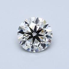 0.70 Carat 圆形 Diamond 非常好 J SI2