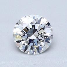 1.02-Carat Round Diamond Ideal E VVS1