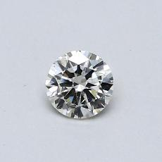 Recommended Stone #1: 0,30-Carat Round Cut Diamond
