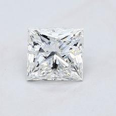 0,80-Carat Princess Diamond ASTOR F VVS2