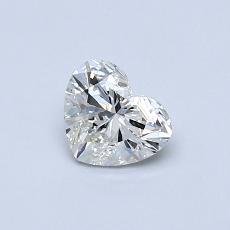 オススメの石No.3:0.51カラットのハートカットダイヤモンド