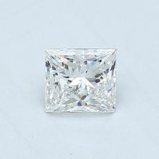 推荐宝石 1:0.46 克拉公主方形钻石