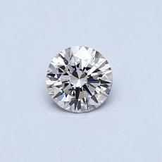 0.31-Carat Round Diamond Ideal J VS1