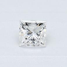 Recommended Stone #2: 0.39-Carat Princess Cut Diamond