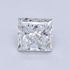 0.80-Carat Princess Diamond Very Good F VS1