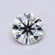 オススメの石No.4:0.80カラットのラウンドカットダイヤモンド