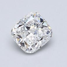 目标宝石:0.96 克拉垫形钻石