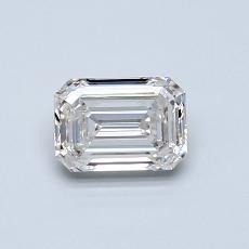 推荐宝石 2:0.60 克拉祖母绿切割钻石