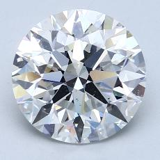 Recommended Stone #2: 3,82-Carat Round Cut