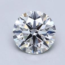 1.20 Carat 圆形 Diamond 理想 H VVS2
