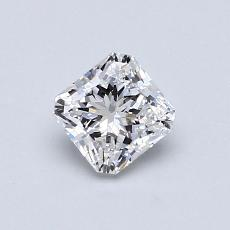 Recommended Stone #3: 0,59-Carat Radiant Cut Diamond