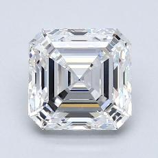 1,80-Carat Asscher Diamond Very Good E VVS1