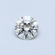 推荐宝石 3:0.32克拉圆形切割钻石