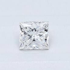 Target Stone: 0,39-Carat Princess Cut Diamond