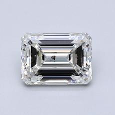 Recommended Stone #2: 1.01-Carat Emerald Cut Diamond