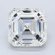 3,04-Carat Asscher Diamond Very Good G VS1