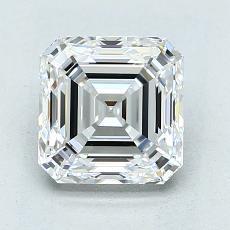 2.02-Carat Emerald Diamond Very Good E VS1