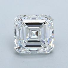 Recommended Stone #1: 1.30-Carat Asscher Cut Diamond