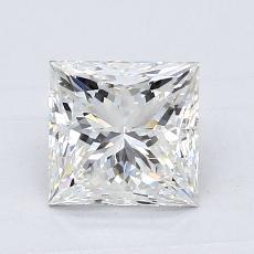 推薦鑽石 #1: 1.22  克拉公主方形鑽石