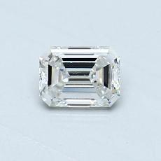 Recommended Stone #2: 0.39-Carat Emerald Cut Diamond