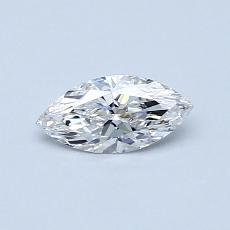 0.33 Carat 榄尖形 Diamond 非常好 F VS1