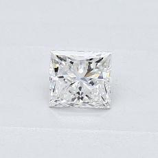 Recommended Stone #1: 0.31-Carat Princess Cut Diamond