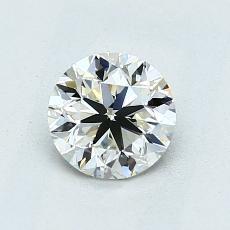 0.90-Carat Round Diamond Very Good K VVS2