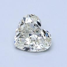 Recommended Stone #3: 0.91-Carat Heart Cut Diamond