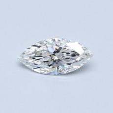 0.31-Carat Marquise Diamond Very Good E SI1