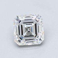 Recommended Stone #1: 1.11-Carat Asscher Cut Diamond