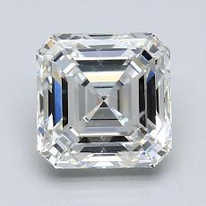 Pierre recommandée n°4: Diamant taille Asscher 1,72 carat