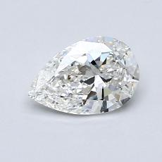 Recommended Stone #1: 0.60-Carat Pear Cut Diamond