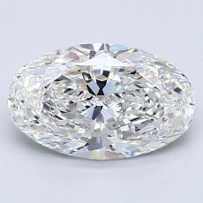 Recommended Stone #2: 1.71-Carat Oval Cut Diamond