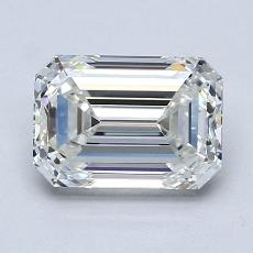 Recommended Stone #4: 1.56-Carat Emerald Cut Diamond