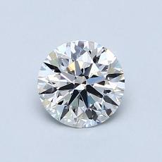 0.71 Carat 圆形 Diamond 理想 D VVS1