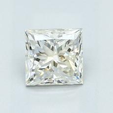 Pierre recommandée n°4: Diamant taille princesse 1,06 carat