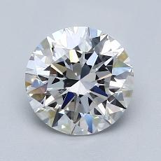 1.50 Carat 圓形 Diamond 理想 E VVS2