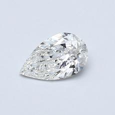 Recommended Stone #3: 0.41-Carat Pear Cut Diamond