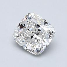 推薦鑽石 #2: 1.00  克拉墊形切割鑽石