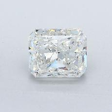 1.73-Carat Radiant Diamond Very Good H SI1