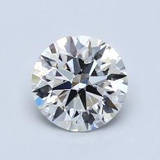 1,05-Carat Round Diamond Ideal H VS1