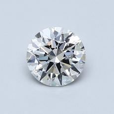 0.70 Carat 圓形 Diamond 理想 F VVS2