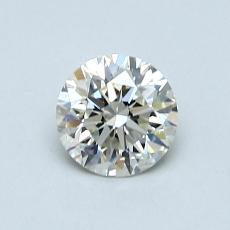 0.70-Carat Round Diamond Ideal K VS2